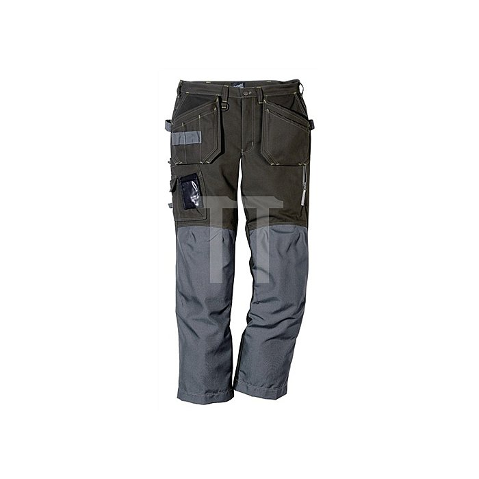 Workerhose Canvas Gr.50 cool dark grey FRISTADS Kontrastnähte