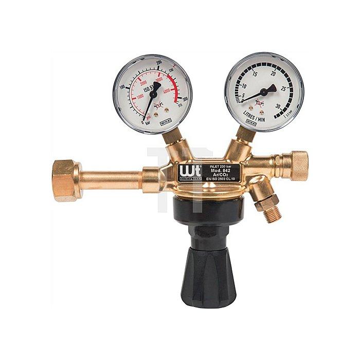 WT - Druckminderer Sauerstoff 841OX Arbeitsdruck 0-10 bar