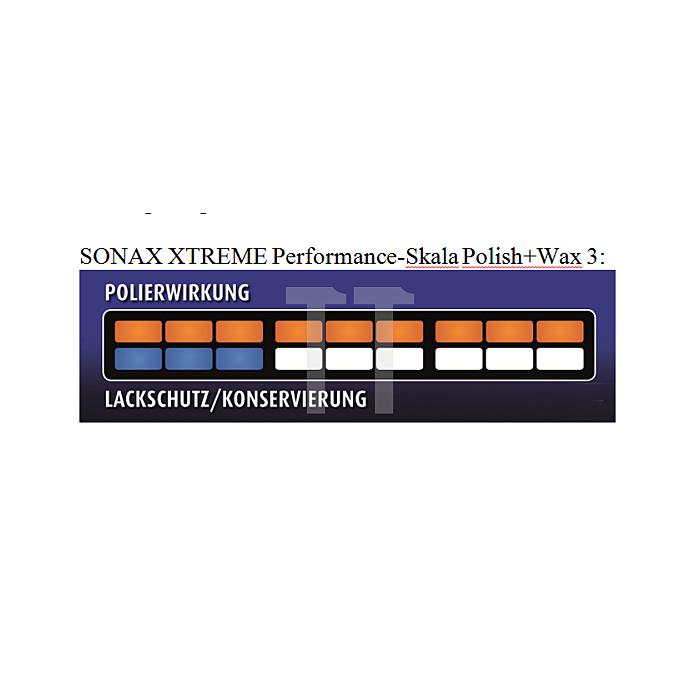 Xtreme Polish & Wax 3 Hybrid NPT 250 ml