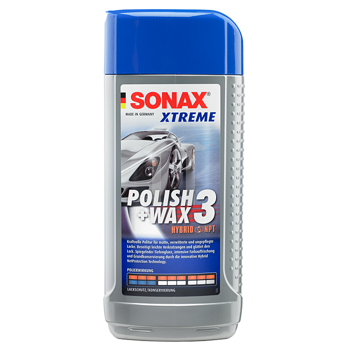 Xtreme Polish & Wax 3 Hybrid NPT 500 ml