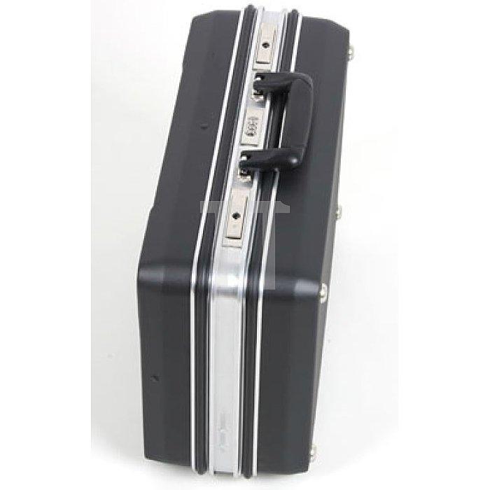 XXL-Werkzeug- Schalenkoffer ABS schwarz Zahlenschloss Budget  470 x 200 x 360mm