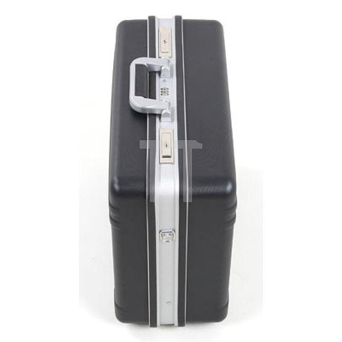 XXL-Werkzeugkoffer schlagfestes ABS schwarz Basic + Trolley Rollensystem