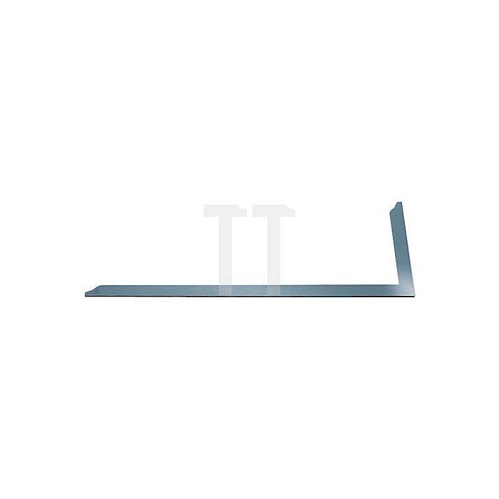 Zimmermannswinkel verz. 700x300mm o.Anreißöffnungen m.Skalierung