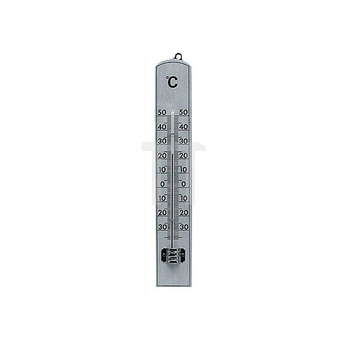 Zimmerthermometer L.206xB.34mm Buche natur lackiert