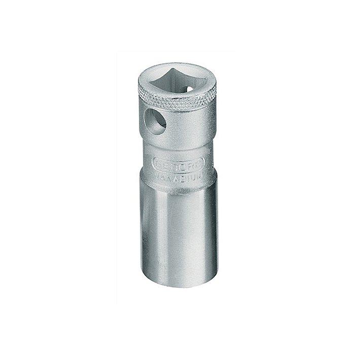 Zündkerzeneinsatz 3/8Zoll 16mm 6KT m.Haltefeder CV.