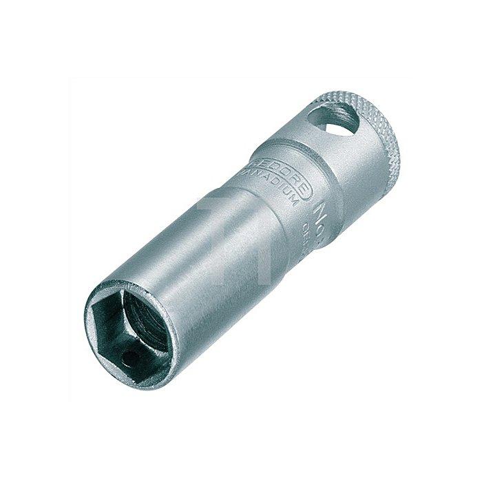 Zündkerzeneinsatz 3/8Zoll 20,8mm 6KT m.Magnet CV.