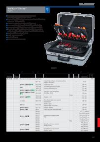 KNIPEX 00 19 73 LE Werkzeug-G/ürteltasche leer