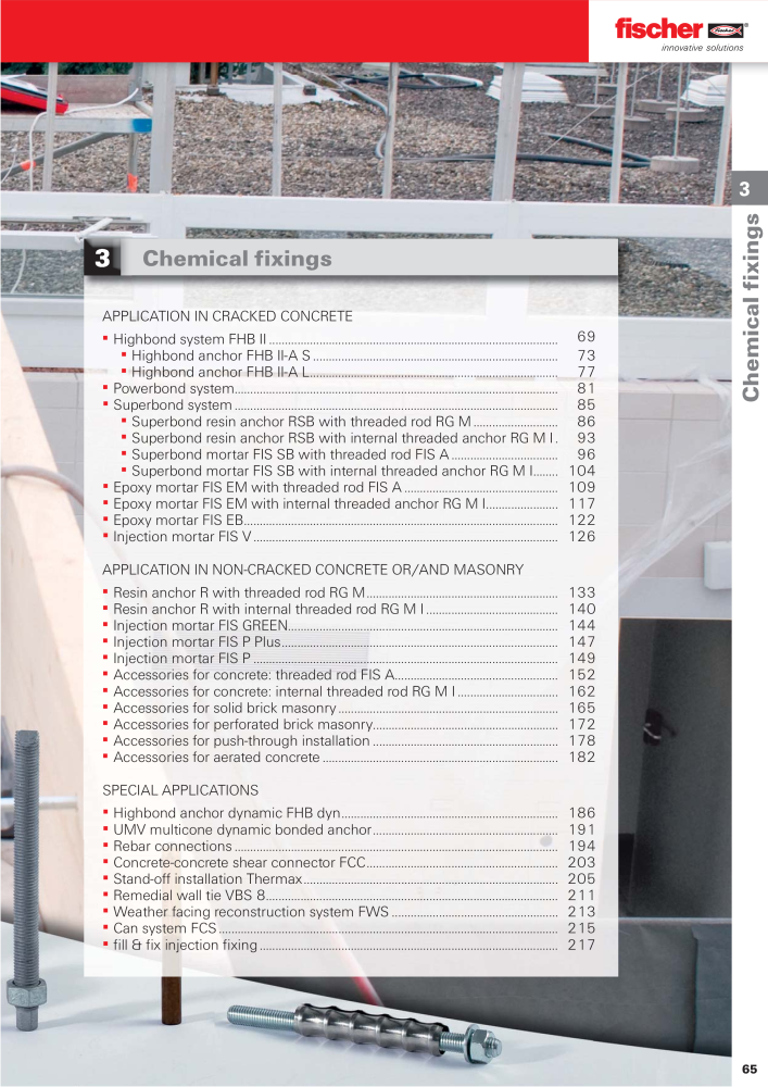 fischer fixing-systems maincatalogue - Page 65