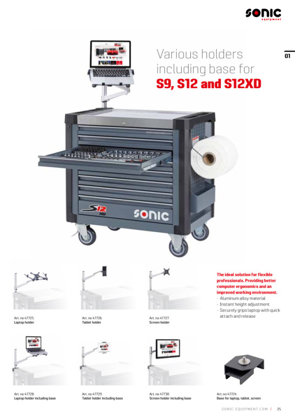 Sonic Tablethalter inklusive Basis 47729