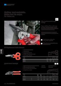 Typ J MATADOR 0587 0007 Axial-Gripzange 210 mm