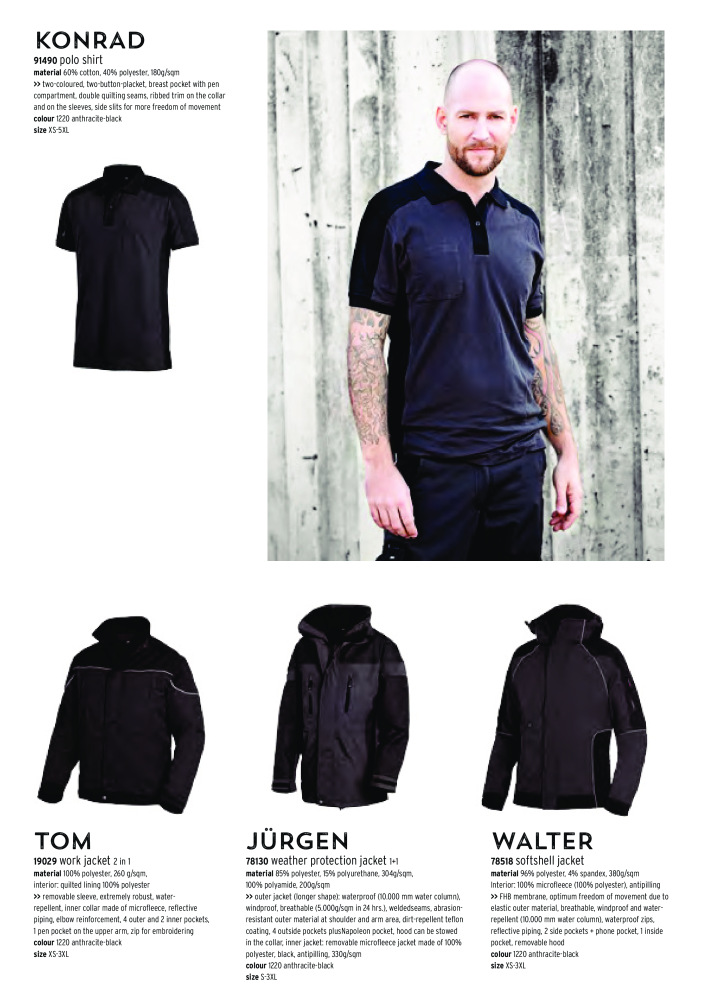 Fhb Main Catalogue Workwear Guilds Clothes Page 68