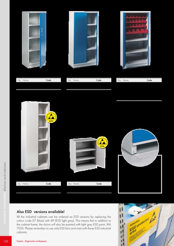 Treston Lochplatte für Tür oder Seitenwand, 854353-07