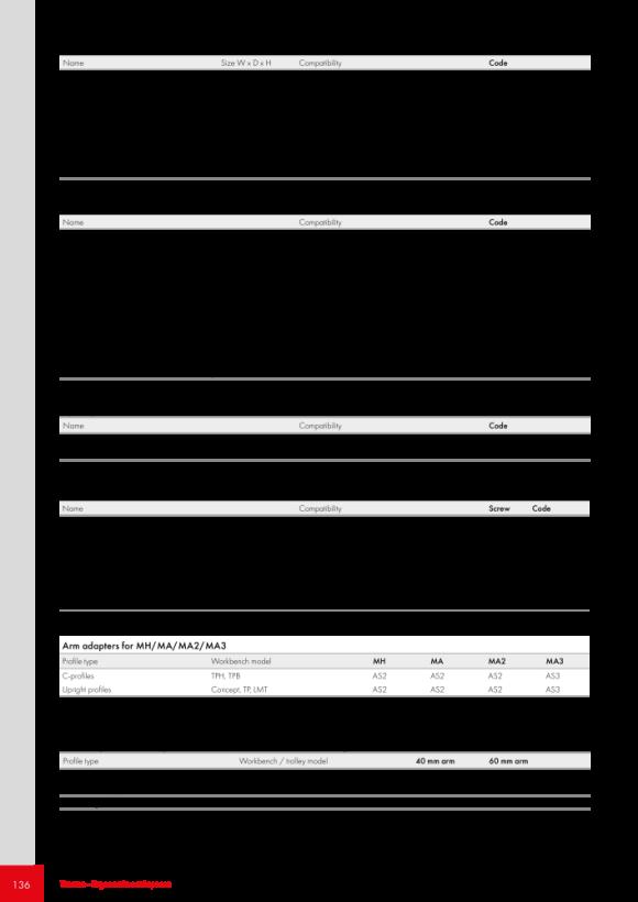 Treston Lochplatte / Werkzeughalterung, 860176-49