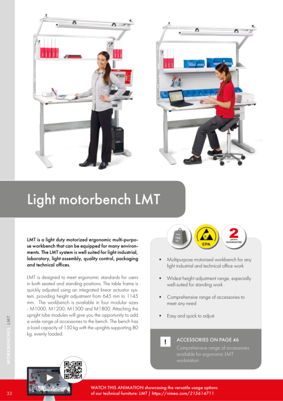 Treston Rasterrohrmodul M1500 für LMT-Serie, 854924-49