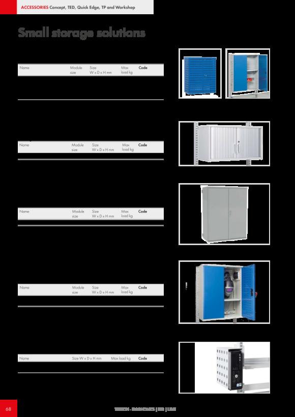 Treston Unterteiler-Set 5 für Schublade 70/75, 873015-49