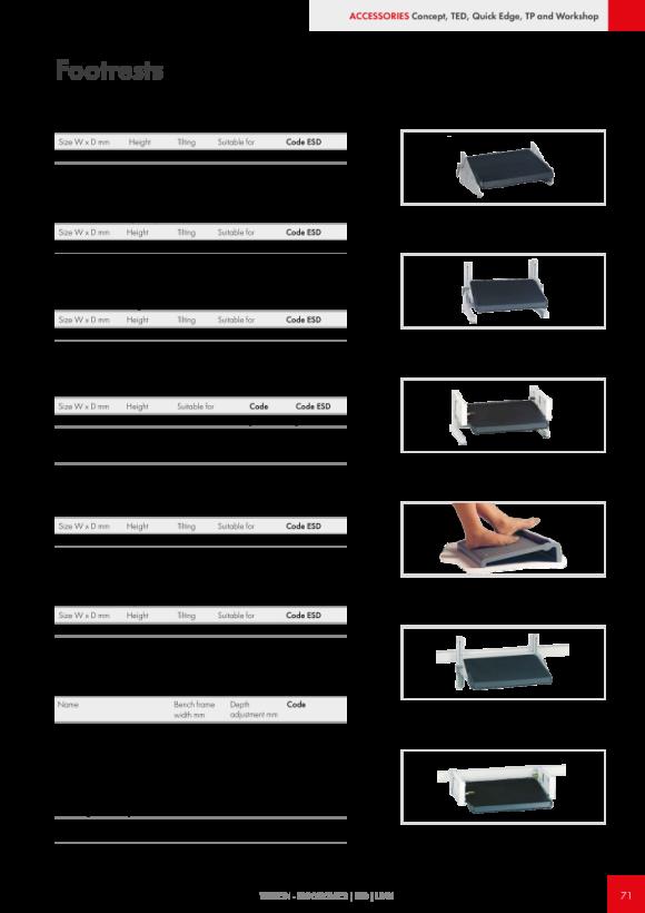 Treston Unterteiler-Set 2 für Schublade 90/100, 873052-49