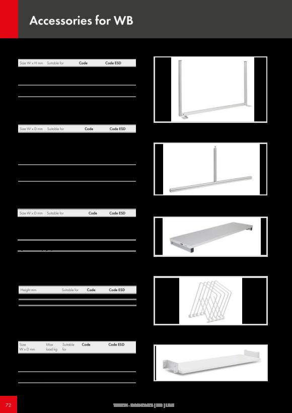 Treston Unterteiler-Set 6 für Schublade 70/100, 873026-49
