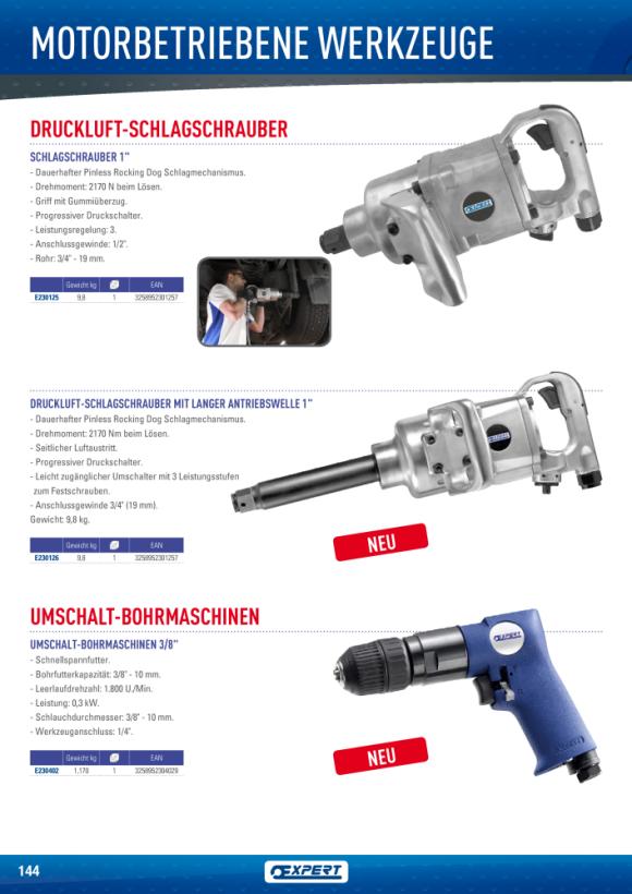 """Expert UMKEHRBARER BOHRER 3/8"""" (10 MM) E230402"""