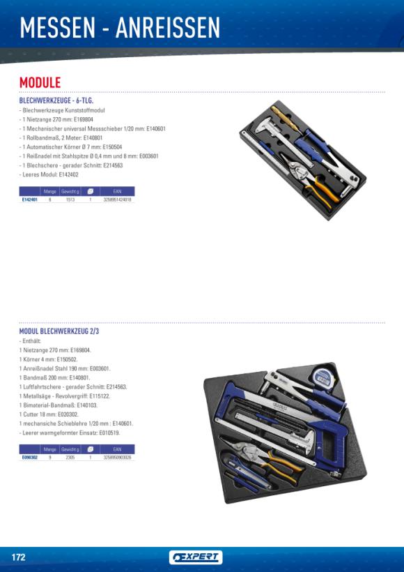 Expert 200-MM-STAHLMAßSTAB E140801