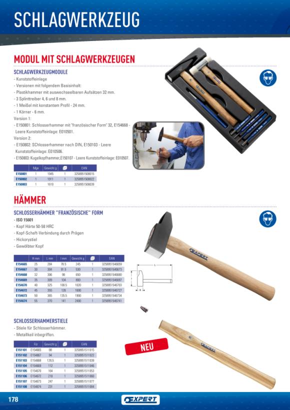Expert INGENIEUR-HAMMER 40MM E154670