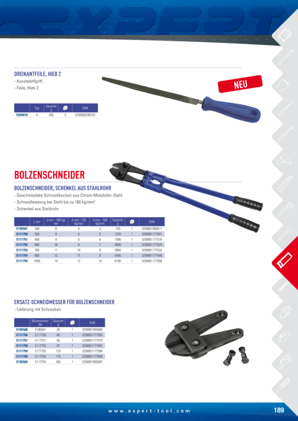 """Expert 900MM/36"""" TUBULENGRIFF-BOLZENSCHNEIDER E117754"""
