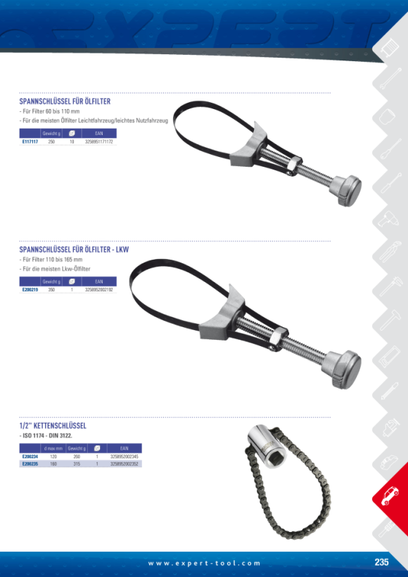 Expert ABLASSSCHRAUBE BIT-STECKER 10MM E200205