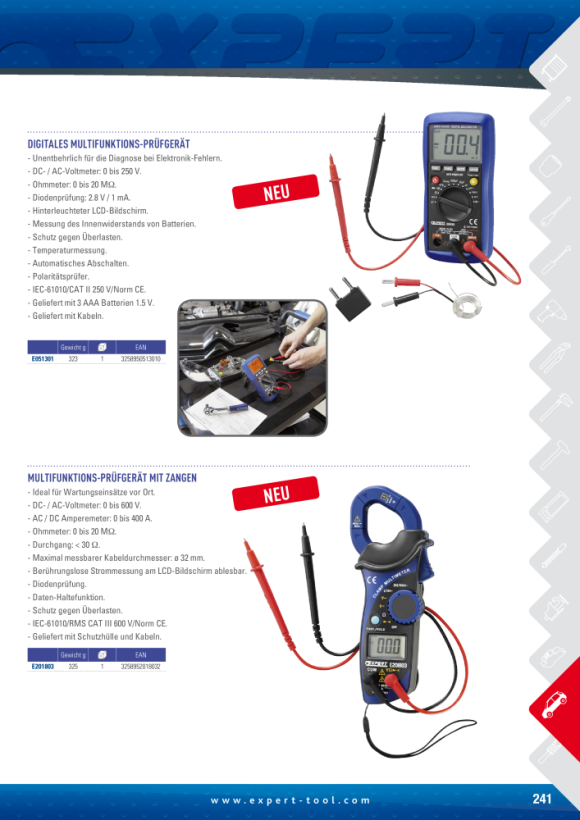 Expert CLIP AM MULTIMETER E201803