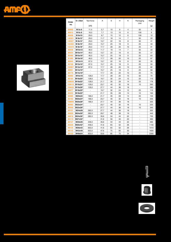 AMF T-Nutenstein DIN508 M8x16 153460