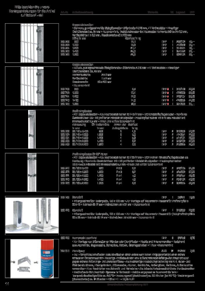 Unimet Drahtmaterial, Zaunbau, Insektenschutz - Seite 19