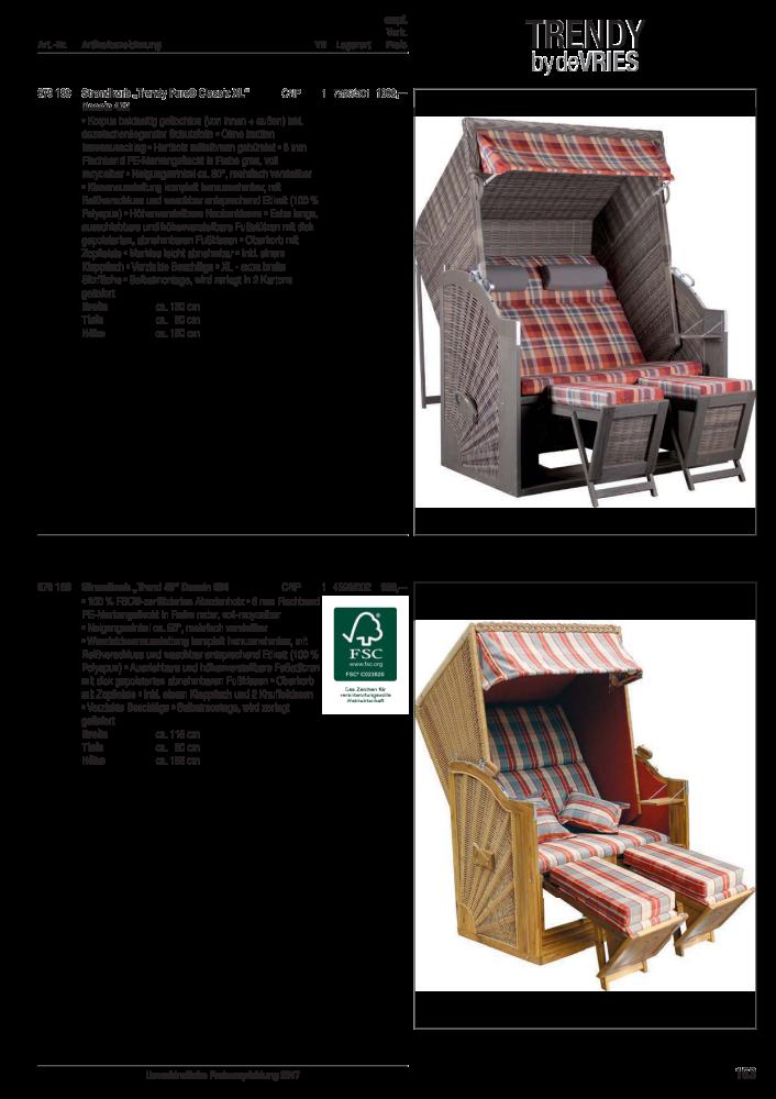 Unimet Freizeitartikel, Gartenmöbel, Spielwaren - Seite 164