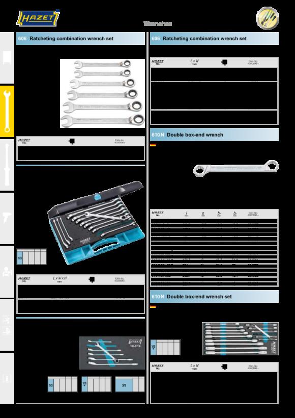 HAZET Steckschlüssel T-Griff 866-10