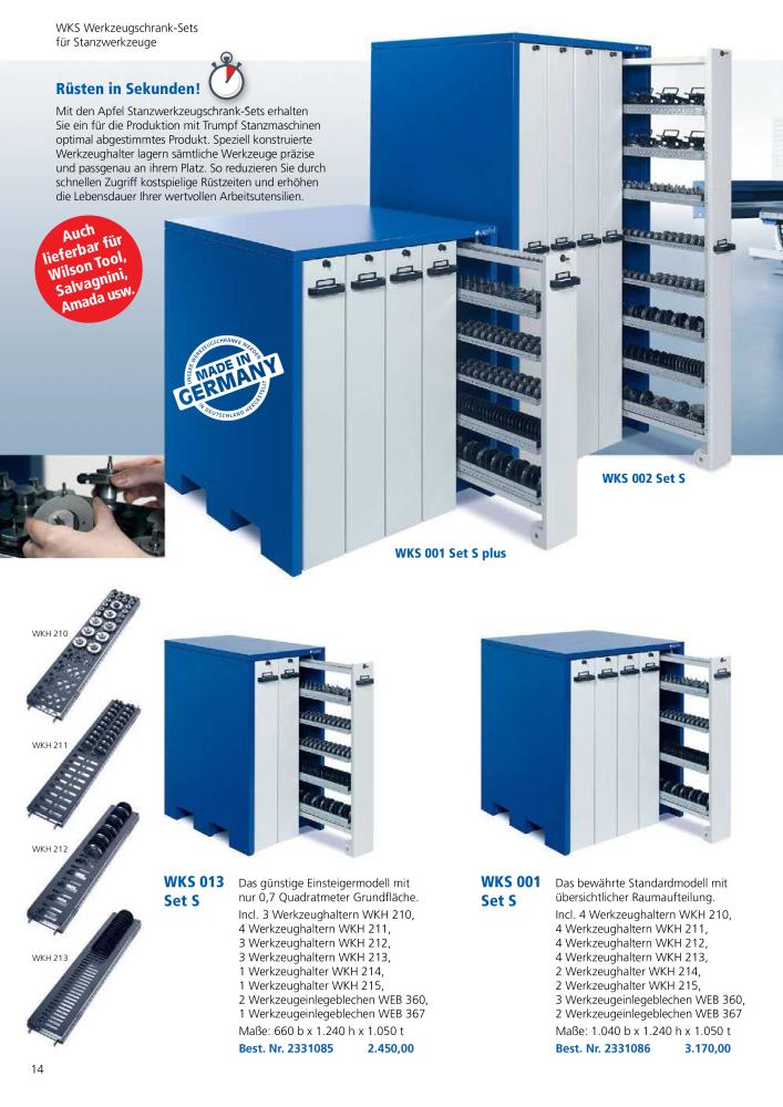 43573f5426c8da APFEL Katalog Betriebseinrichtungen - Page 14