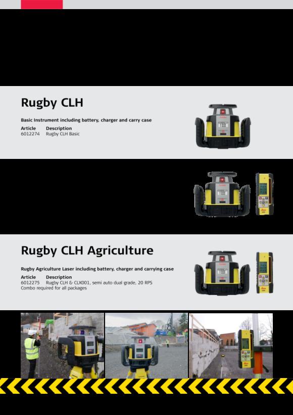 Leica Rugby CLA Basic 6012279