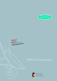 Capito Luftrad 400/100 Stahlfelge mit Achse-Durchmesser 17mm KUNSTSTOFF-GLEITLAGER 10501