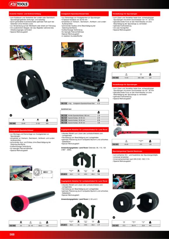 "KS Tools 1/4"" Kipp-Verlängerung, 350mm auf Hänger 911.1548-E"