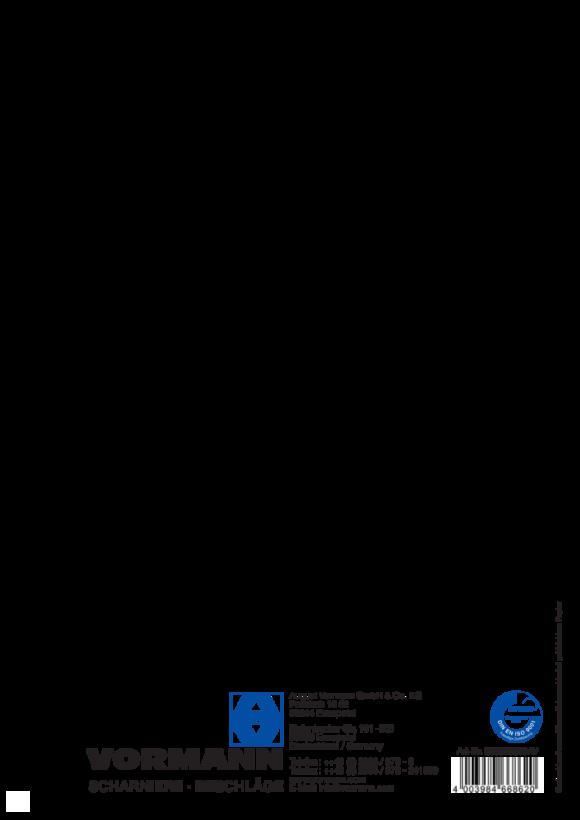 Vormann Spannschr. 150X8 b.12mm vz. 2St. 007900219AV
