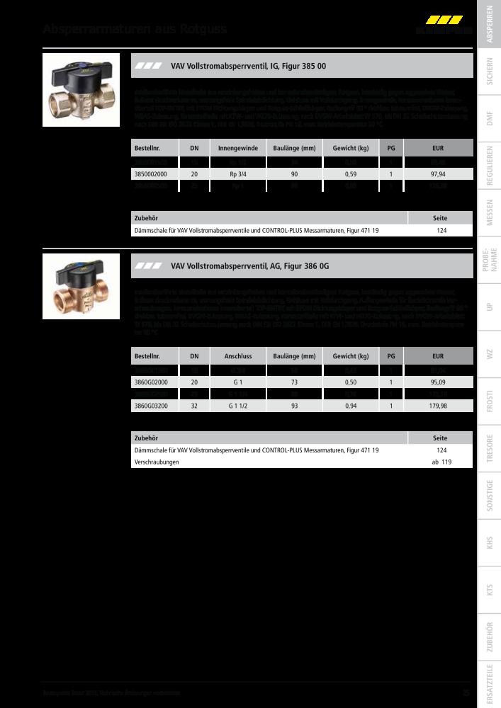 c0cc957074599 KEMPER Katalog Armaturen Absperrarmaturen Sicherungsarmaturen ...
