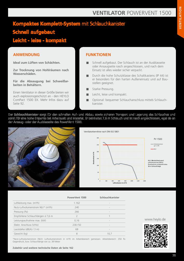 Heylo Hauptkatalog Luftsysteme Beheizung Trocknung Ventilation