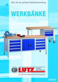KLW Universalschrank - 2000 x 1200 x 490 mm H x B x T 7FN-QH2000TD-0204XRB
