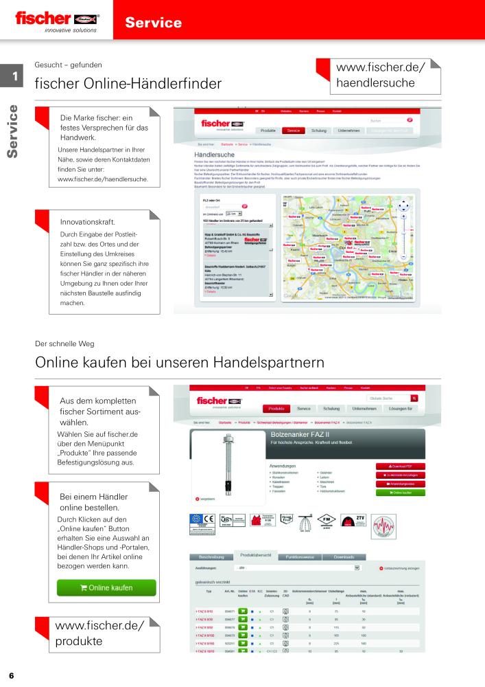 Fischer Hauptkatalog Befestigungstechnik Dubel Schrauben Bohrer