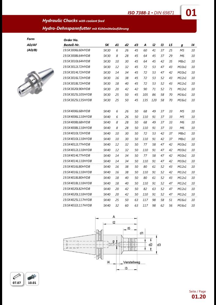 EWS Tool Technologies Katalog WSV Werkzeugaufnahmen - Page 24