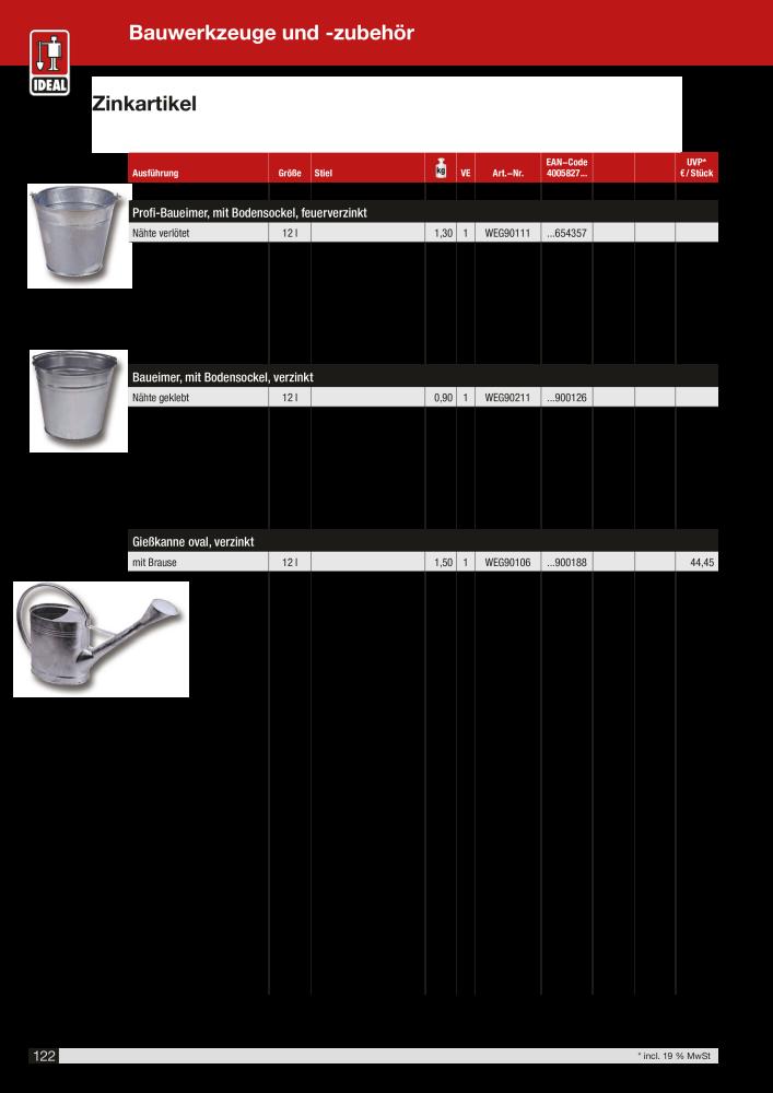 Plattenlegerhammer 1500 g