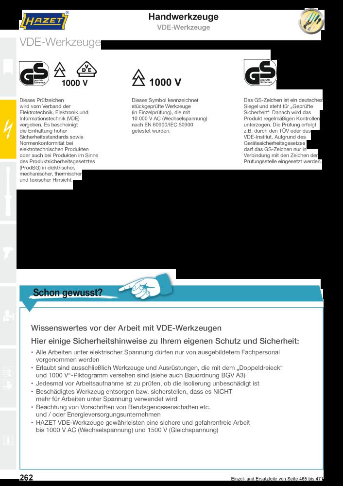 HAZET Hauptkatalog Handwerkzeug Werkzeugwagen Werkzeugkasten ...