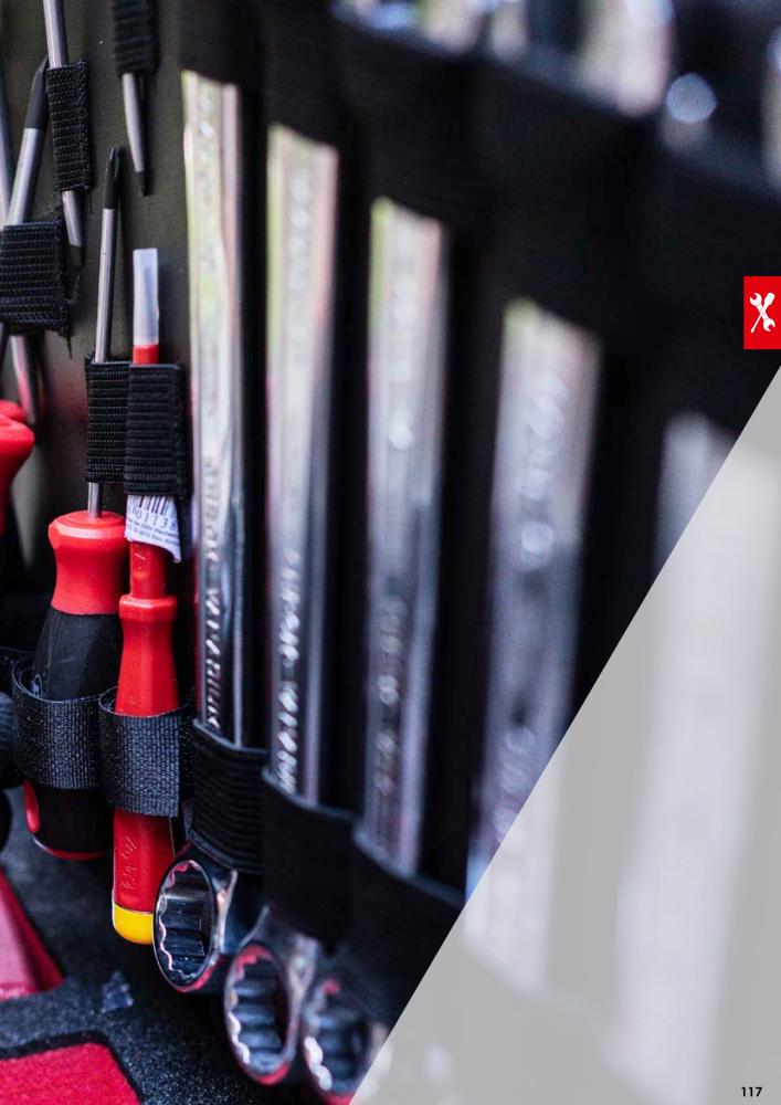 Anzahl Werkzeuge 40 Schraubendreher-Satz V5634 Zangen- VIGOR Hammer-